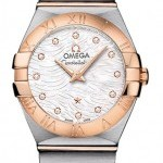 Omega 12320246055007  Constellation Brushed 24mm Ladies