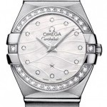 Omega 12315246055006  Constellation Brushed 24mm Ladies