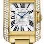 Cartier Wt100006  Tank Anglaise Medium Ladies Watch
