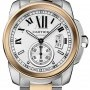 Cartier W7100036  Calibre de  Mens Watch