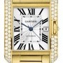 Cartier Wt100007  Tank Anglaise - Large Mens Watch