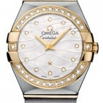 Omega 12325246055011  Constellation Brushed 24mm Ladies
