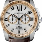 Cartier W7100043  Calibre de  Chronograph Mens Watch
