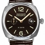 Panerai Pam00346  Radiomir 8 Days 45mm Mens Watch