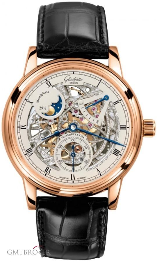 Мужские часы с лунным календарем от Secunda