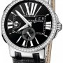 Ulysse Nardin 243-00b42  Executive Dual Time 43mm Mens Watch