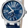Ulysse Nardin 243-00b43  Executive Dual Time 43mm Mens Watch