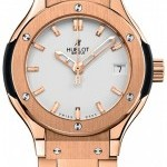 Hublot 581ox2610ox  Classic Fusion Quartz Gold 33mm Ladie