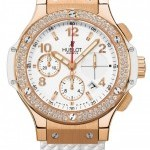 Hublot 341pe2010rw1104  Big Bang Gold White 41mm Mens Wat