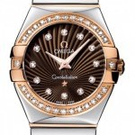 Omega 12325276063002  Constellation  Polished 27mm Ladie