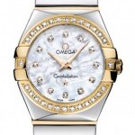 Omega 12325246055007  Constellation Polished 24mm Ladies
