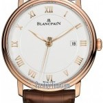 Blancpain 6651-3642-55  Villeret Ultra Slim Seconds  Date Au