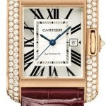 Cartier Wt100016  Tank Anglaise Medium Ladies Watch
