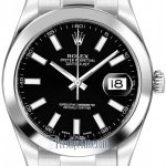 Rolex 116300 Black Index  Oyster Perpetual Datejust II M
