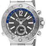 Bulgari Dg40c14ssdgmt  Diagono Automatic GMT 40mm Mens Wat