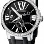 Ulysse Nardin 243-00b-342  Executive Dual Time 43mm Mens Watch