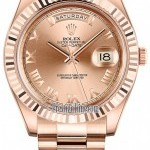 Rolex 218235 Pink Roman President  Day-Date II 41mm Ever