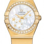 Omega 12355246005001  Constellation Star 24mm Ladies Wat