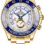 Rolex 116688 White  Yacht-Master II Mens Watch