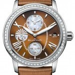 Blancpain 3760-1946a-52b  Womens Double Time Zone Ladies Wat