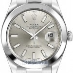 Rolex 116300 Silver Index  Oyster Perpetual Datejust II