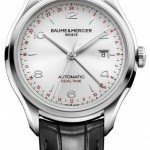 Baume & Mercier 10112 Baume  Mercier Clifton Automatic Dual Time 4
