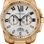 Cartier W7100047  Calibre de  Chronograph Mens Watch