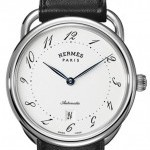 Hermès 035477WW00  Arceau Automatic TGM 41mm Mens Watch
