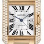 Cartier Wt100004  Tank Anglaise - Large Mens Watch