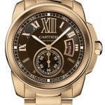 Cartier W7100040  Calibre de  Mens Watch