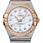Omega 12325246055001  Constellation Brushed 24mm Ladies