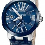 Ulysse Nardin 243-0043  Executive Dual Time 43mm Mens Watch