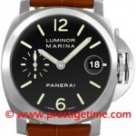 Panerai Pam00048  Luminor Marina Automatic 40mm Mens Watch