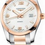 Longines L27855767  Conquest Automatic 40mm Mens Watch