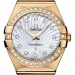 Omega 12355276055003  Constellation  Brushed 27mm Ladies