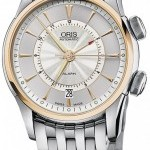 Oris 01 908 7607 6351-Set-MB  Artelier Alarm Mens Watch