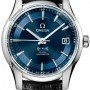 Omega 43133412103001  De Ville Hour Vision Mens Watch