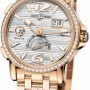 Ulysse Nardin 246-55b-860  GMT Big Date 42mm Mens Watch