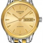 Longines L47993327  Flagship Automatic Day Date Mens Watch