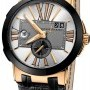 Ulysse Nardin 246-00421  Executive Dual Time 43mm Mens Watch