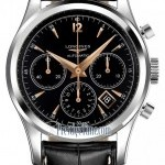 Longines L27504560  Heritage Chronograph Mens Watch