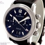 Blancpain LEMAN CHRONOGRAPH FLY-BACK BIG DATE MATT FINISHED