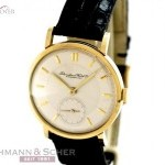 IWC IWC Vintage Gentlemans Watch 18k Yellow Gold Bj 19