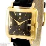 Rolex Vintage Ladies Watch Square 18K Yelow Gold BJ 1958