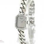 Zenith Chopard 18K White Gold Original Diamond Setting Ma