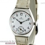 Omega OMEGA Vintage Gentlemans WWI Watch 925 Silber Enam