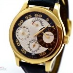 Chopard Regulateur LUC Gentlemans Watch 18k Yellow Gold Bj