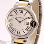 Cartier Ballon Bleu Man Size Ref W69009Z3 18k Yellow GoldS