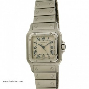 Cartier SANTOS 987601 IN STEEL 987901 74607