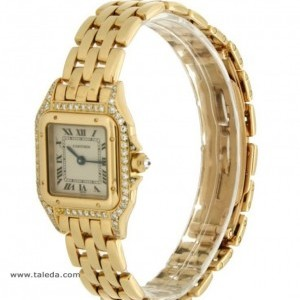 Cartier PANTHRE IN YELLOW GOLD AND DIAMONDS 8057915 74803